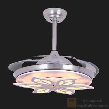 Quạt đèn led 36W, Ø50-110*H50cm, 3 màu ánh sáng 96171