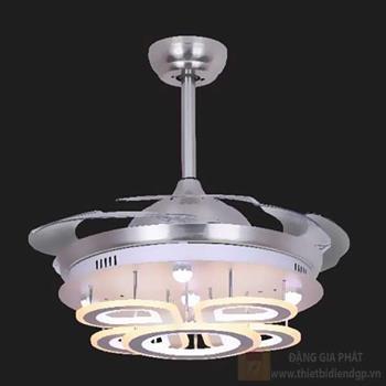 Quạt đèn led 36W, Ø48-110*H50cm, 3 màu ánh sáng 96172