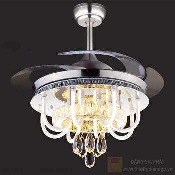 Quạt đèn led 99W, Ø50-110*H70cm, 3 màu ánh sáng 96173