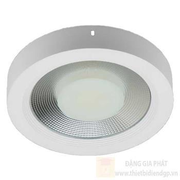 Đèn ốp trần LED-COB 20W, Ø22cm, ánh sáng trắng & vàng 97242