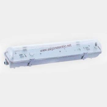 Đèn huỳnh quang chống thấm -IP65, 2 bóng 0.6m(2x18W), Ballast điện tử FS7236CE