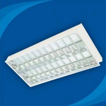 Máng đèn âm trần loại bản rộng 2 bóng x 1.2m PRFD236