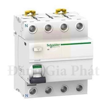 Acti9 RCCB 4P ilD K, 30mA, 240-415V, AC type A9R50425