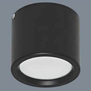 Đèn ốp nổi cao cấp Anfaco AFC 646D vỏ đen- 3 chế độ - 9W AFC 646D