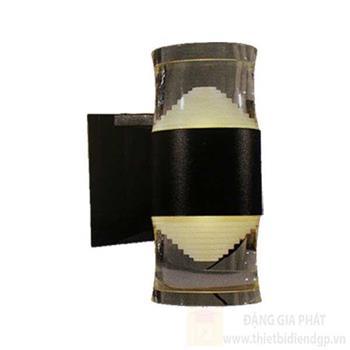Đèn led vách hành lang Hufa - IP54 Ø90*W150*H235, 12W, 3 chế độ ánh sáng, vỏ màu Đen AK 1182/2 ĐEN