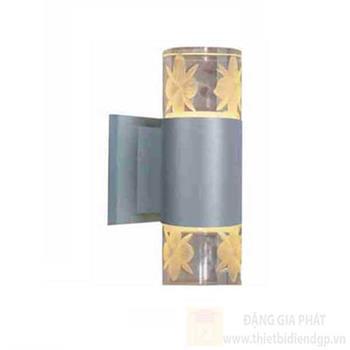 Đèn led vách hành lang Hufa - IP54 Ø65*W120*H200-12W, 3 chế độ ánh sáng, vỏ màu Xám AK 7050/2 XÁM