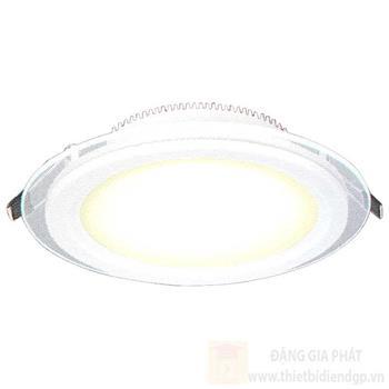 Đèn âm trần kiếng tròn 3 chế độ ánh sáng 6W AT-57 LED