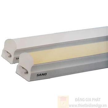 Bộ đèn liền máng T5-0m6, thân nhôm giải nhiệt 9W loại 1 Bộ 3854/T5-0m6