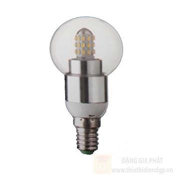 Bóng led 4W, E14, ánh sáng trắng & vàng B 3886