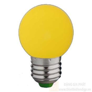 Bóng bulb led màu vàng 2W-E27 loại 1 B 3957