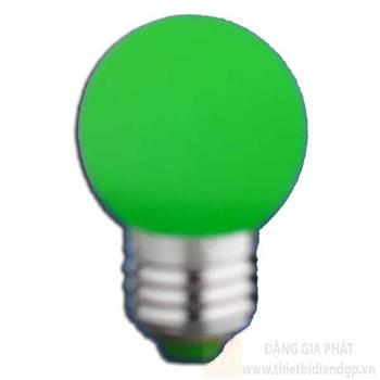 Bóng bulb led màu xanh lá 2W-E27 loại 1 B 3959