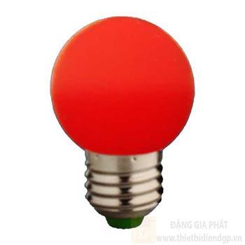 Bóng bulb led màu xanh đỏ 2W-E27 loại 1 B 3960