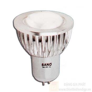 Bóng MR16 Sano, led 5W loại 1 B 6271