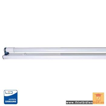 Bộ đèn led tube T8 thủy tinh nguồn rời 22W BD TT01 NR M11/22Wx1