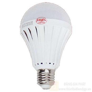 Bóng đèn tích điện Hufa 9W sáng 8h, ánh sáng trắng, vàng BKC-9W
