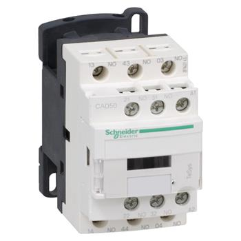 Relay điều khiển Schneider loại D điều khiển LC & AC & DC CAD50/CAD32