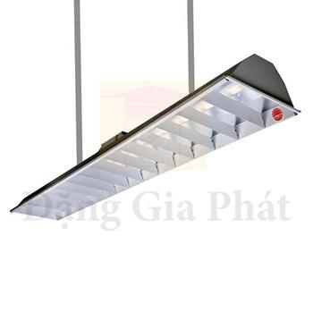 Bộ đèn led tube chiếu sáng học đường bóng nhôm nhựa 20W T8 CSLH/20Wx1
