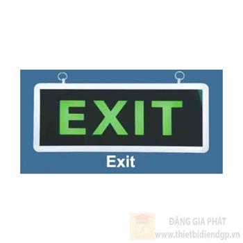 Đèn exit (chữ exit) mặt đôi, W140*L350 Exit-2