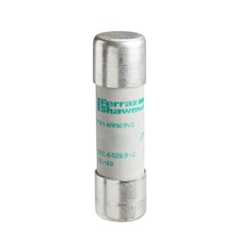 Cầu chì bảo vệ - Tesys GS, cylindrical 14 mm x 51 mm, fuse type aM, 400 VAC, 50 A, without striker DF2EA50