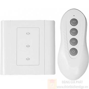 Công tắc ba Kawasan cảm ứng chạm điều khiển từ xa DK3S