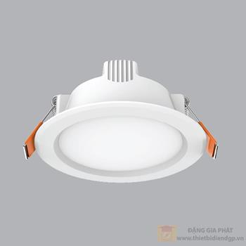 Led downlight âm trần 9W đổi màu series DLEL DLEL-9/3C