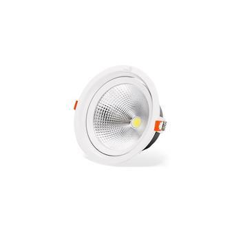 Đèn led âm trần chiếu điểm COB Kingled tròn Ø180 30W DLR-30-T180