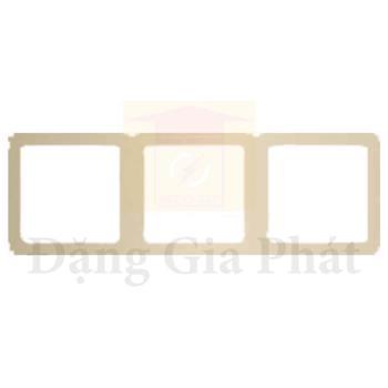 Khung đỡ 3 lỗ màu vàng ánh kim E8331_36_WG_G19