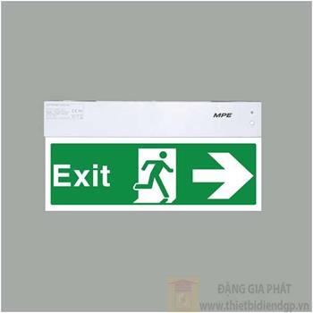 Đèn Exit một mặt phải EXR/M EXR/M