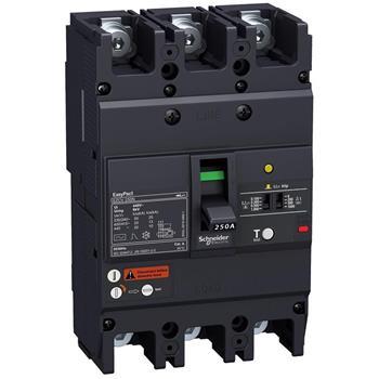 Thiết bị đóng cắt EZCV250 3P 63A type N,lcu=25ka 415 VAC EZCV250N3063