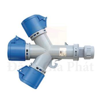 Ổ cắm nối chia 3 ngã loại không kín nước IP44 16A 3P F9432006