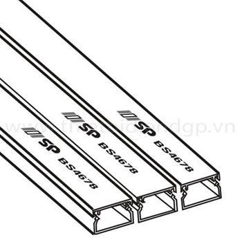Máng Ghen Luồn Dây Điện Có Nắp 14*8mm/120*40mm GA14