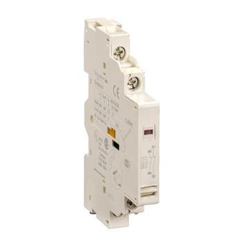 TeSys GV2 & GV3 - auxiliary contact - 1 NO + 1 NO (fault) GVAD1010