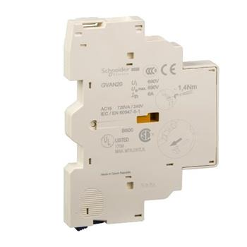 TeSys GV2 & GV3 - auxiliary contact block - 2 NO GVAN20