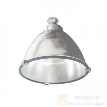 Đèn chóa công nghiệp nhà xưởng có kiếng 400W - Ø420 x H340 mm HDK400