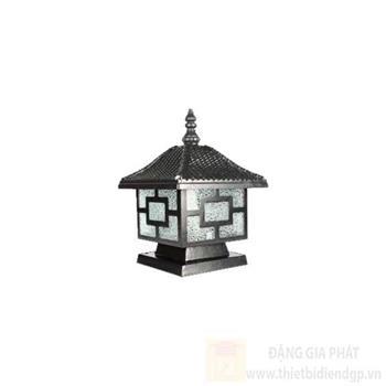 Đèn trụ cổng Vuông Hufa L200*W200*H250 HF-014