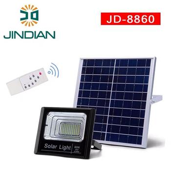 Đèn pha năng lượng mặt trời JinDian 60W JD-8860