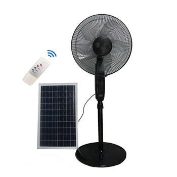 Quạt đứng dùng pin năng lượng mặt trời JinDian điều khiển JD-S88