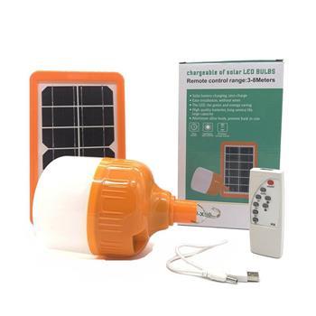 Đèn bulb năng lượng mặt trời JinDian 50W điều khiển JD-X50