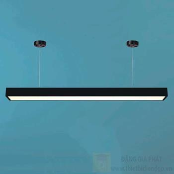 Đèn led tube Hufa L1200*W70*H40-36W vỏ đen, ánh sáng trắng, vàng KN 831 ĐEN