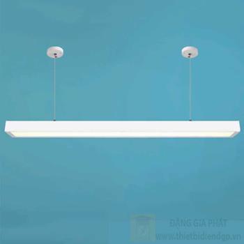 Đèn led tube Hufa L1200*W70*H40-36W vỏ trắng, ánh sáng trắng, vàng KN 831 TRẮNG