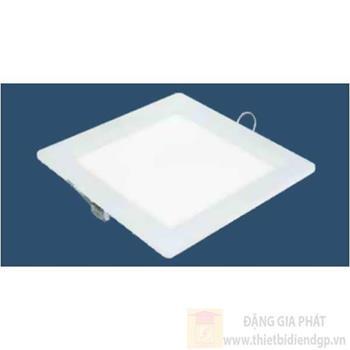 Đèn Panel vuông âm trần led 6W, Ø120*H15mm, khoét lỗ Ø105mm, ánh sáng trắng & vàng LA 3676