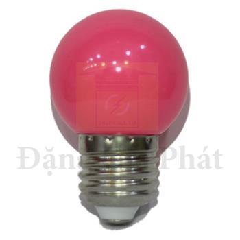 Bóng Led MPE trái chanh trang trí màu hồng 1.5W LBD-3PK