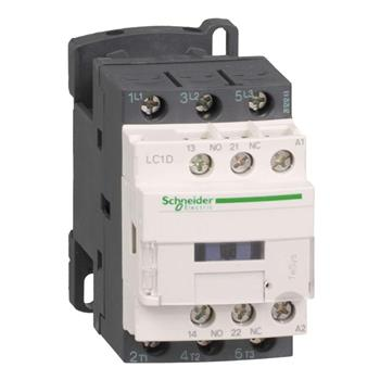 Khởi động từ Tesys D với cuộn dây điều khiển loại AC LC1D09