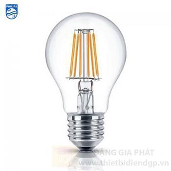 Bóng Led Filament Philips Classic A60 6W LED Classic 6-60W E27 830/865