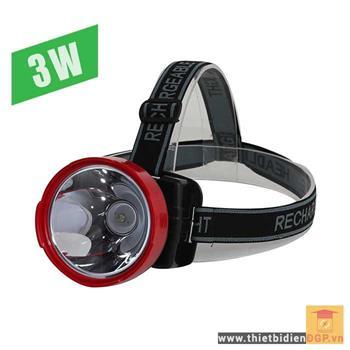 Đèn Pin Led đội đầu 3W Rạng đông D PDD02/3W