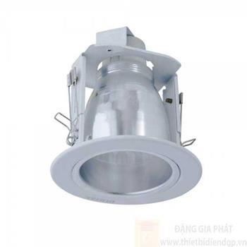 LHK 2.5 : Đèn downlight âm trần có kiếng, viền sơn trắng 3W LHK 2.5