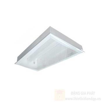 Máng đèn tán quang âm trần chụp Mica 2 x 18W LLA6218