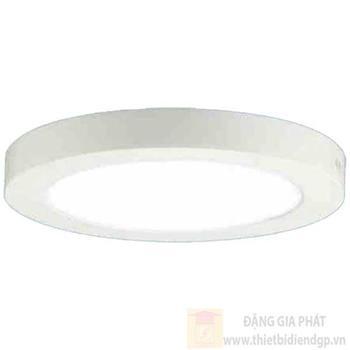 Đèn Panel ốp nổi tròn led 24W, Ø300*H32, vành nhôm, ánh sáng trắng & Vàng LN 1296