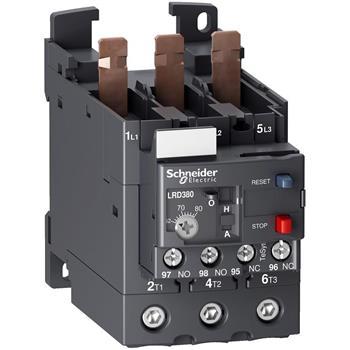 Relay nhiệt class 10 A(1) với đầu kết nối bắt vít LRD380