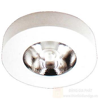 Đèn downlight ốp nổi led Ø60*H16-3W vỏ màu trắng LT-78T